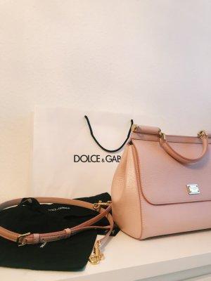Dolce & Gabbana Sicily Bag Medium beige/pink