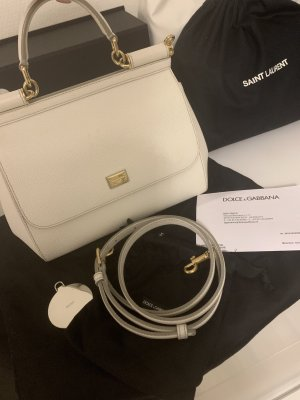 Dolce & Gabbana Carry Bag white-gold-colored