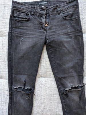 Dolce & Gabbana Jeans elasticizzati grigio