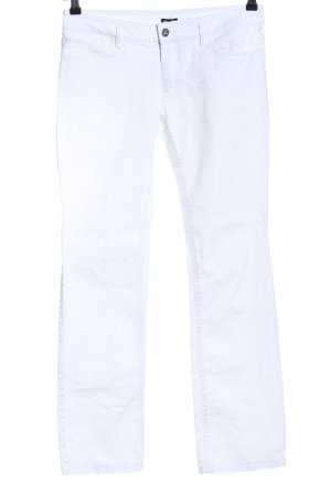 Dolce & Gabbana Slim Jeans weiß Casual-Look