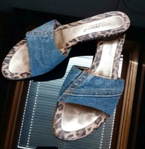 Dolce & Gabbana Pantofel czarny