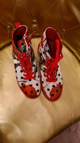Dolce & Gabbana Sneakers met veters magenta