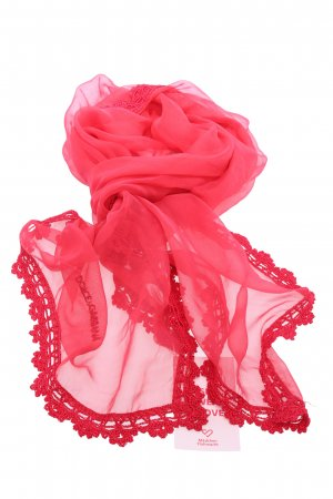 Dolce & Gabbana Summer Scarf red casual look