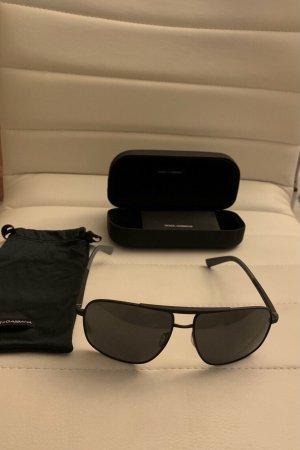 Dolce & Gabbana Aviator Glasses black