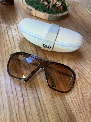 Dolce & Gabbana Gafas Retro coñac-marrón oscuro