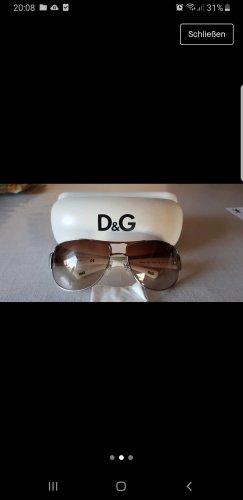 Dolce & Gabbana Hoekige zonnebril wit