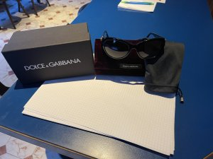 Dolce & Gabbana Gafas mariposa negro