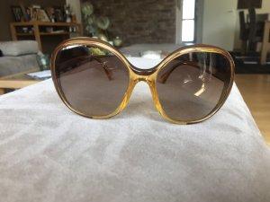 Dolce & Gabbana Lunettes de soleil rondes brun-orange doré