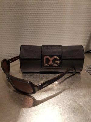 Dolce & Gabbana Lunettes brun noir