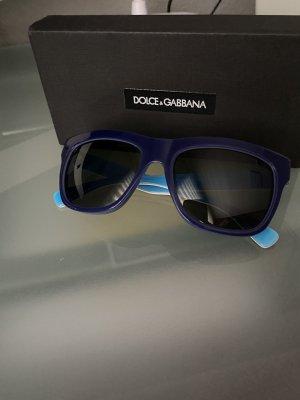 Dolce & Gabbana Hoekige zonnebril blauw