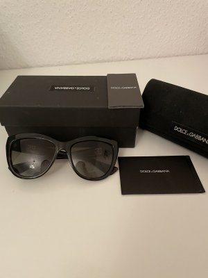 Dolce & Gabbana Sonnenbrille braun Gold