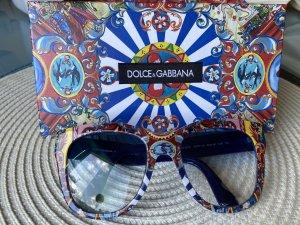 Dolce & Gabbana Lunettes de soleil rondes multicolore