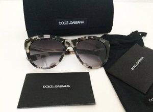 Dolce & Gabbana Ronde zonnebril grijs-taupe