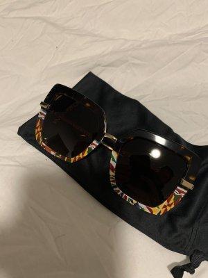 Dolce & Gabbana Lunettes de soleil angulaires multicolore