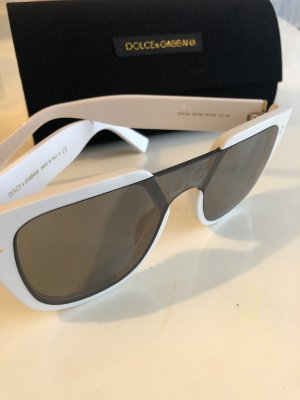 Dolce & Gabbana Occhiale grigio scuro-bianco