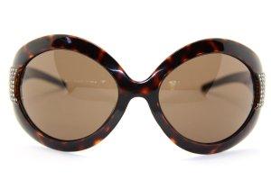 Dolce & Gabbana Bril zwart bruin-donker oranje Acetaat