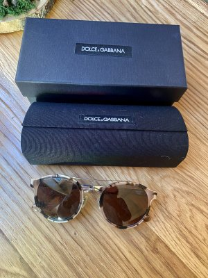 Dolce & Gabbana Occhiale da sole ovale multicolore