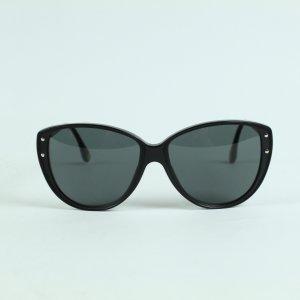 Dolce & Gabbana Round Sunglasses black-silver-colored mixture fibre
