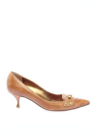 Dolce & Gabbana Spitse pumps bruin casual uitstraling