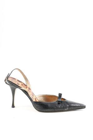 Dolce & Gabbana Spitz-Pumps schwarz Elegant