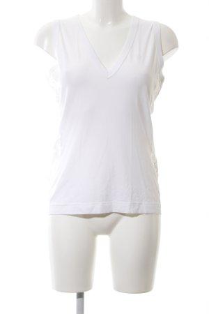 Dolce & Gabbana Kanten topje wit zakelijke stijl