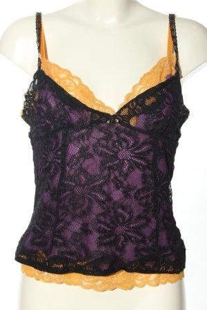 Dolce & Gabbana Top di merletto multicolore elegante