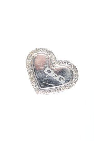 Dolce & Gabbana Anello di fidanzamento argento stile casual