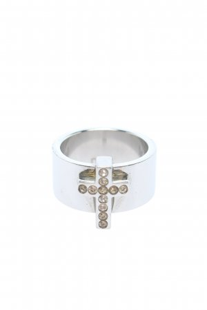 Dolce & Gabbana Statement ring zilver casual uitstraling