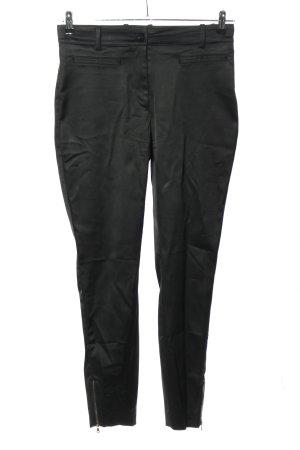Dolce & Gabbana Pantalone jersey nero stile casual