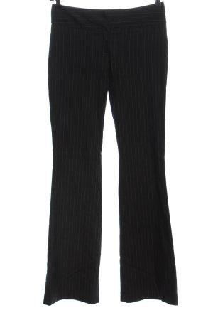 Dolce & Gabbana Pantalón tipo suéter negro-blanco estampado a rayas