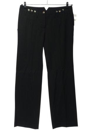 Dolce & Gabbana Stoffhose schwarz Casual-Look