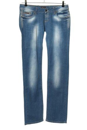 Dolce & Gabbana Straight-Leg Jeans blau Casual-Look