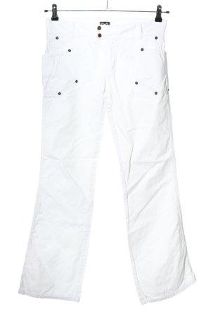 Dolce & Gabbana Vaquero rectos blanco look casual
