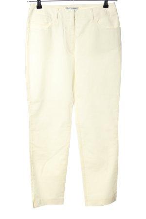 Dolce & Gabbana Pantalone elasticizzato crema stile casual