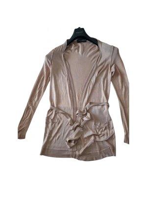 Dolce & Gabbana Giacca in maglia color oro rosa-rosa antico