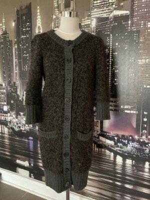 Dolce & Gabbana Manteau en tricot gris