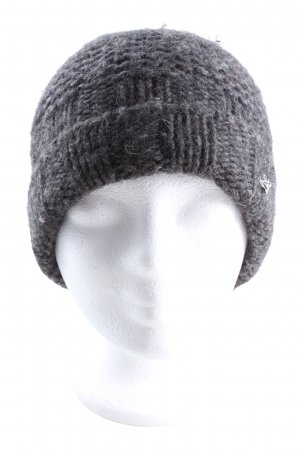Dolce & Gabbana Knitted Hat black flecked casual look