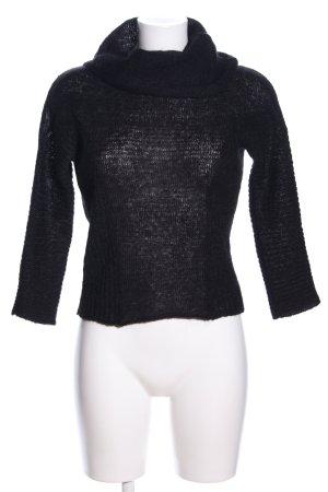 Dolce & Gabbana Strickpullover schwarz Casual-Look