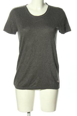Dolce & Gabbana T-shirts en mailles tricotées gris clair moucheté