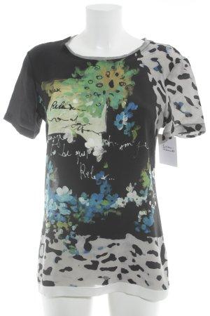 Dolce & Gabbana T-Shirt abstraktes Muster Casual-Look