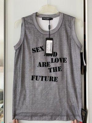 Dolce & Gabbana T-shirt bianco-nero Cotone