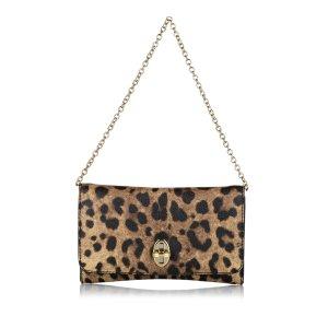 Dolce & Gabbana Shoulder Bag brown leather