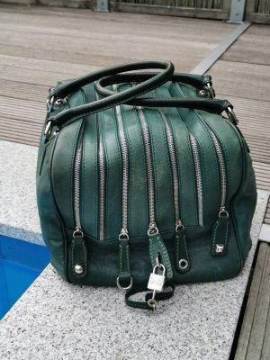 DOLCE & GABBANA Tasche  LILY BAG 7 Zip dunkelgrün