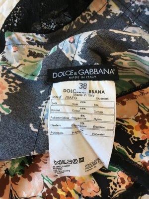 Dolce & Gabbana Silk Top multicolored silk