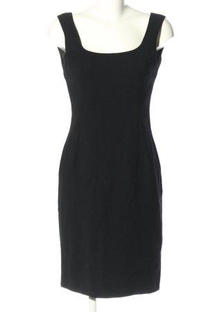 Dolce & Gabbana Trägerkleid schwarz Business-Look