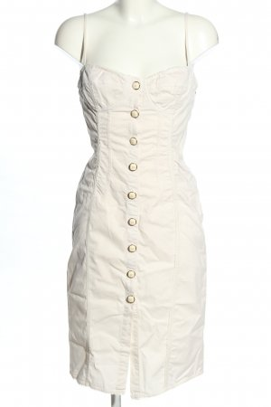 Dolce & Gabbana Robe à bretelles blanc style décontracté