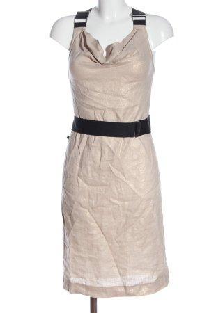 Dolce & Gabbana Vestido tipo overol crema-negro