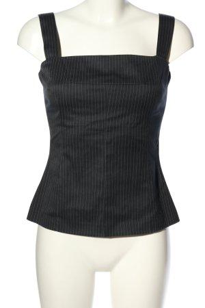 Dolce & Gabbana Trägertop schwarz Streifenmuster Casual-Look