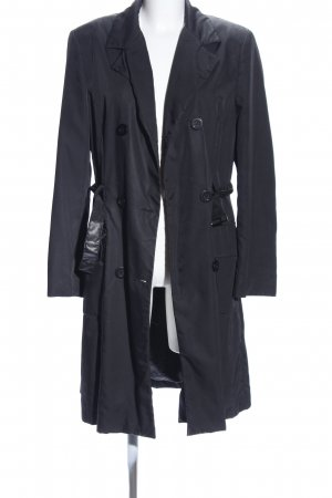 Dolce & Gabbana Trenchcoat schwarz Business-Look