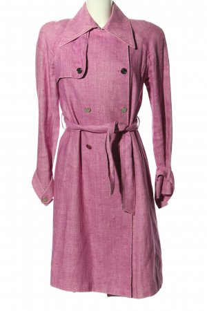 Dolce & Gabbana Trenchcoat pink meliert Casual-Look